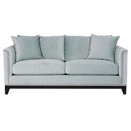 Pauline sofa in icy blue velvet $999  www.zgallerie.com