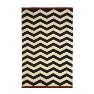 Zigzag rug $ 99  www.westelm.com