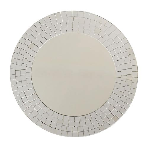 351STM034Crystals Wall Mirror$35