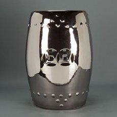 Silver-Garden-Stool$250