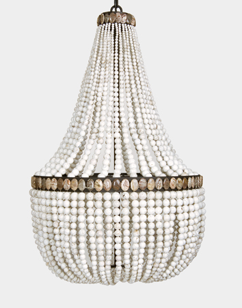 White Turquoise and Agate Empire Chandelier_l