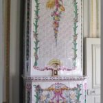 The beloved tile fireplace