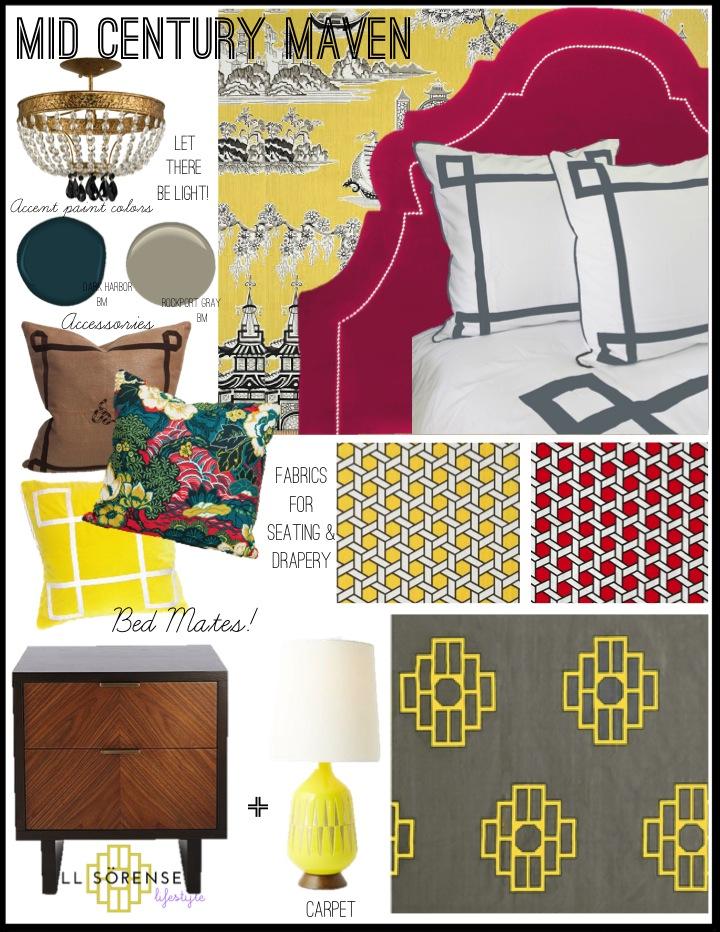 Bedroom Design Idea-Jill Sorensen-Midcentury Maven