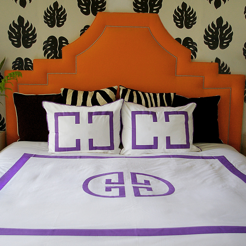 Jill Sorensen Lifestyle- Purple rain Deco bedding