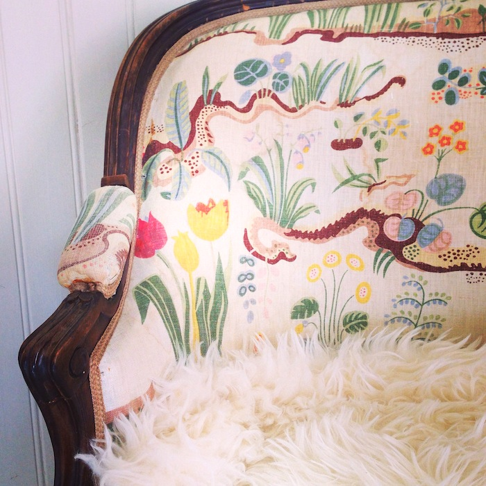 Vintage Josef Frank chair-Jill Sorensen