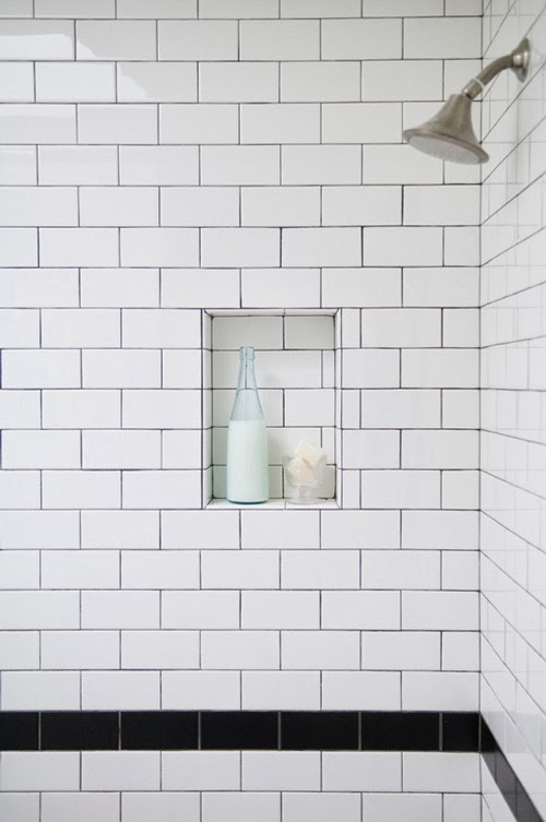 white and black subway tiles with dark black grout copy 2