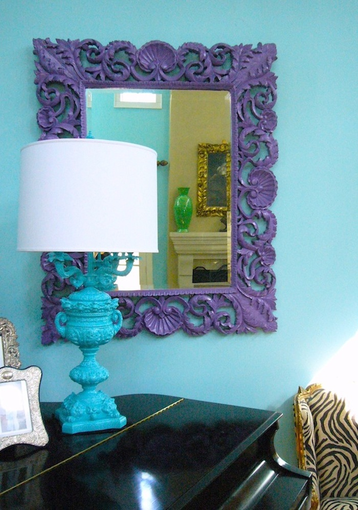 JillSorensen Livingroom purple mirror copy