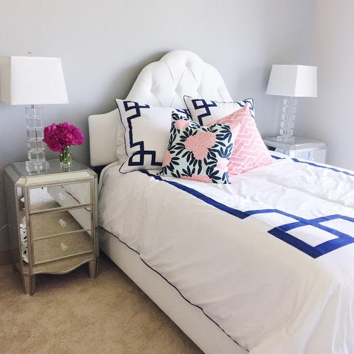 Navy Key Bedding Jill Sorensen Lifestyle