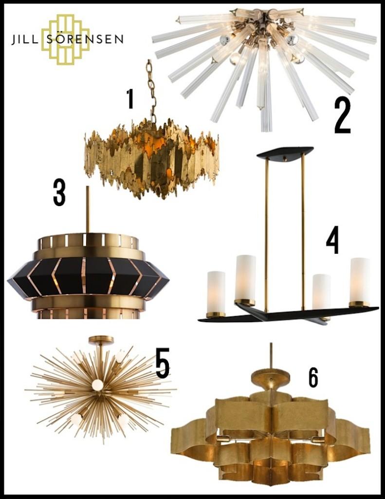 goldlightfixtures-Jill Sorensen Design