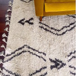 My new living room rug- the geometric shag