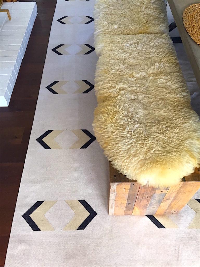 JIll Sorensen Lifestyle-arrow cotton carpet